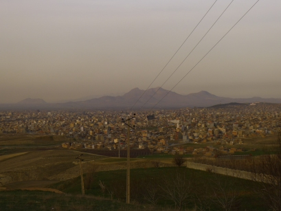 View of the city of Urmia
